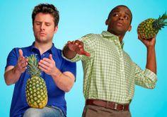 Psych! fruit, heroes, friends, pineappl, fans, bones, families, detective, american idol