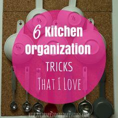 6 #Kitchen #Organization Tricks That I Love