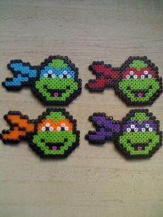 Teenage Mutant Ninja Turtles - Leonardo, Raphael, Michelangelo, Donatello (square board)
