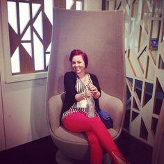 #neocon2013 tulip chair