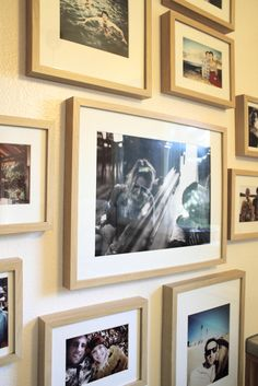 Gallery Wall of Photos