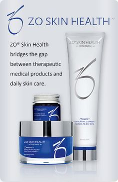 ZO SKIN HEALTH is a product we trust. Wellness Solutions SKIN believes so strongly in this product that we are the exclusive Nashville supplier of Dr. Obagi's next generation of therapeutic skincare products.