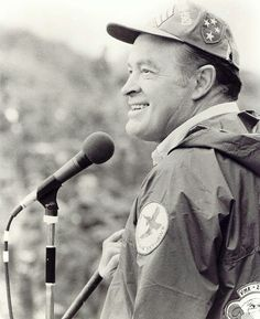 I loved Bob Hope.I am especially grateful for the sacrifices made by Bob Hope to entertain our troops.  He gave up Christmas at home to be with those who needed something to laugh about.  Thank you Mr. Hope.  Thanks for the memories.