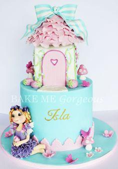 Fairy House Cake facebook.com/bakemegorgeous