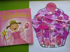 Make a Pink Cupcake Collage -Extension Activity from the story Pinkalicious by Victoria and Elizabeth Kann