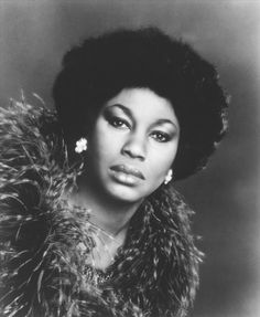 Leontyne Price, one of the first African-Americans to be an opera singer