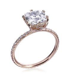 bling, diamond setting, futur, 18k rose, diamond wedding sets, dream engagement rings, gold rings, beauti, rose gold