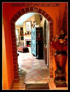 Outdoor theme bedrooms on pinterest for Mexican themed bathroom ideas