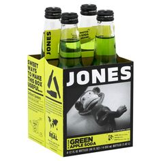 Green Apple Jones Soda