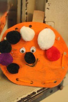 Puffy Pumpkin Lacing