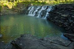 Devil's Den State Park Lee Creek Dam #Arkansas