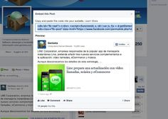 Facebook sigue la estela de Twitter y permite incrustar sus publicaciones en cualquier web http://www.genbeta.com/p/103272