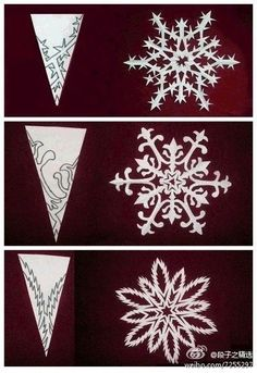 """Paper Snowflakes 