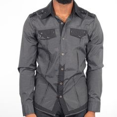 Fall-Ready Button-Downs & Jeans #image