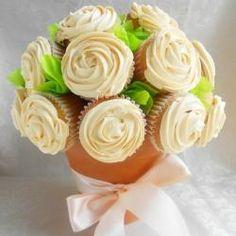 Cupcake Bouquet- cute for a wedding shower