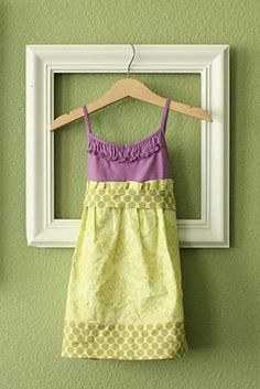 tanktop toddler dress