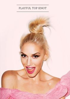 top knot for life.