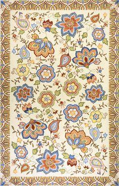 Spencer hand hooked rug
