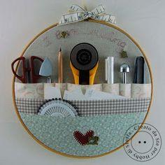 Hobby di stoffa by Hdc: Mettiamo in ordine le nostre attrezzature!