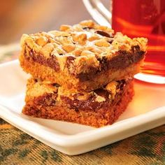 Double Delicious Cookie Bars - simple & easy