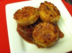 Cumin Pan-Seared Sca