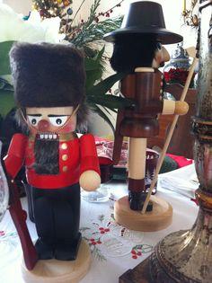 German nutcrackers - my Christmas table in Bonn