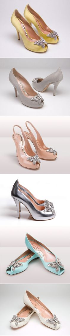 Butterfly bling shoes......Aruna-Seth