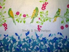 ECHINO ~ BIRDSONG~ By Etsuko Furuya~JAPANESE Cotton Linen 1/2m | eBay