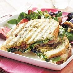 Prosciutto, Fontina, and Fig Panini | CookingLight.com