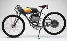 Derringer Bike - A modern interpretation of the board tracking racing motorcycles of the 1920s,