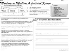 Printables Marbury V Madison Worksheet marbury v madison worksheet plustheapp worksheet