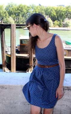 Beautiful Dear Stella dress by Jolies Bobines, via @Kollabora