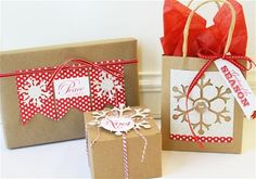 Loving these wrapping ideas.