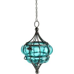 Pier 1 Assorted Hanging Glass Lanterns ~ lovely