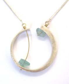 clay, silver necklaces, ellen monaghan, jewelleri design, metal, pendant, stun jeweleri, jewelri inspir, monaghan jewelleri