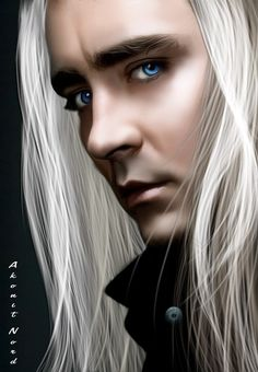 Lee Pace as Thranduil by Akonit-Nord.