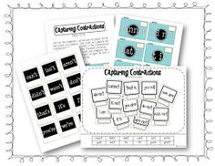 free contraction printables