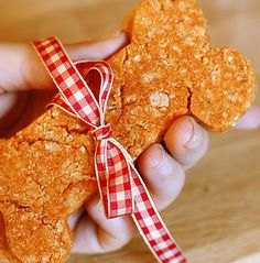 Cheesy dog treat recipe