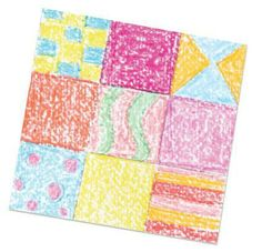 Crayon Quilt Passport to Imagination At-Home Project
