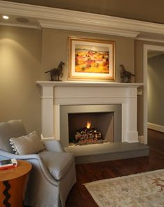 Master Bedroom Fireplace: Avgerakis Collaborate + Design + Build: Joe Karman Architecture