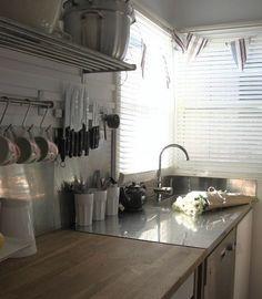 Ikea stand alone kitchen pieces.