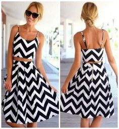 Chevron sundress, ma
