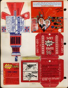 fireworks packaging, 1984 ( cool Flash Ray Gun)