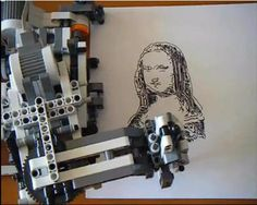 good to show the kids...made with Lego Mindstorms
