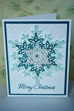 Stampin' Up! Festive Flurry card by Stampoint