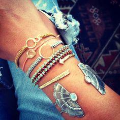DIY macrame + DIY wrap bracelet