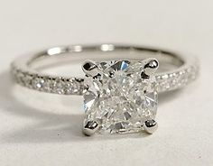 Gorgeous. squar, dream ring, future husband, cushion, beauty, wedding rings, diamond bands, the band, engagement rings