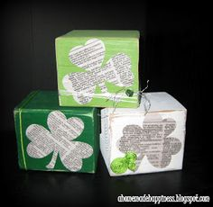 50 BEST Saint Patrick's Day Crafts and Recipes I Heart Nap Time | I Heart Nap Time - Easy recipes, DIY crafts, Homemaking diy crafts, saint patricks day, craft idea, st patricks day, craft tutorials, st patti, homemade crafts, cube, clover block
