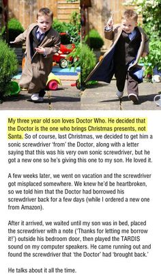 "For Doctor Who families. <a class=""pintag searchlink"" data-query=""%23Imgur"" data-type=""hashtag"" href=""/search/?q=%23Imgur&rs=hashtag"" rel=""nofollow"" title=""#Imgur search Pinterest"">#Imgur</a>"