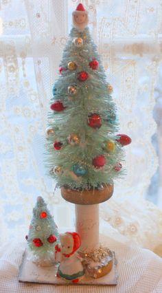 DIY:: Bottle Brush Tree